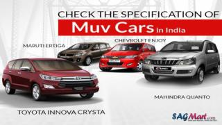 Details of the list of Top Muv Cars in India