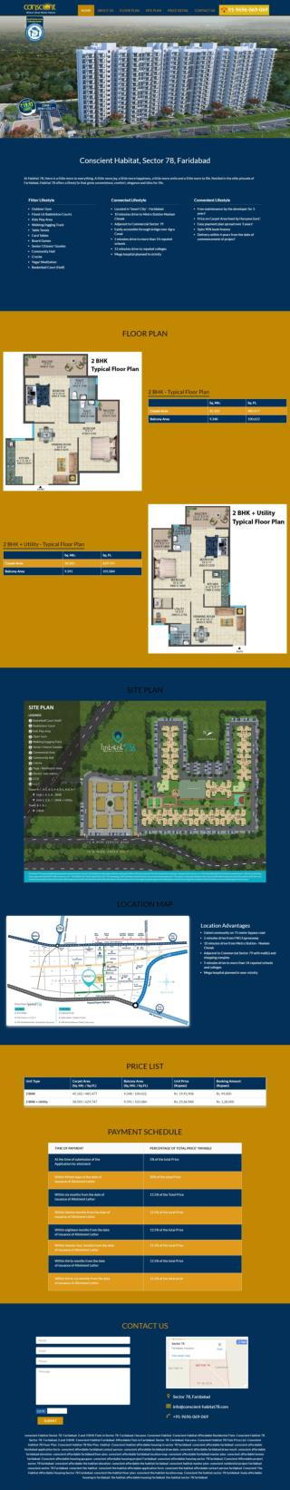 Conscient Habitat Sector 78 Faridabad