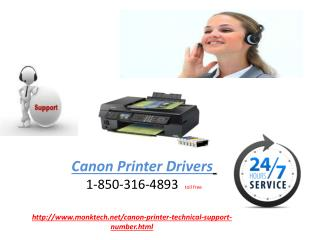 Is it necessary to perform regular check up for Canon Printer drivers?Dial on 1-850-316-4893