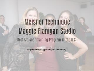 Meisner Technique - Maggie Flanigan Studio Images