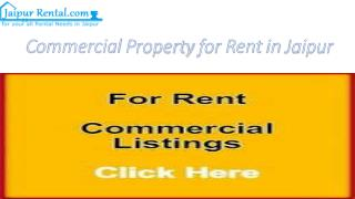 Commercial Property For Rent In Jaipur