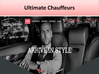 Ultimate Chauffeurs is a transportation company offers all the luxury Vehicles