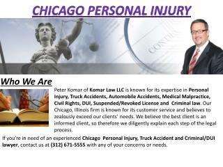 Chicago Personal Injury - Komarlawgroup.com