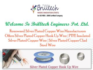 Silver Plated Copper Wires Manufacturers