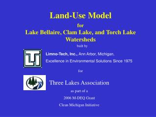 Limno-Tech, Inc., Ann Arbor, Michigan,  Excellence in Environmental Solutions Since 1975