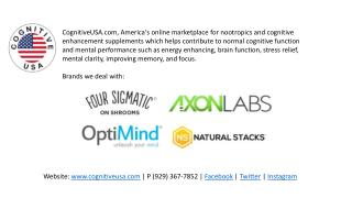 Nootropic and cognitive enhancing supplements online USA