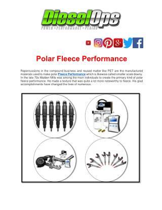 Polar Fleece Performance