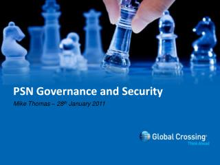 PSN Governance and Security