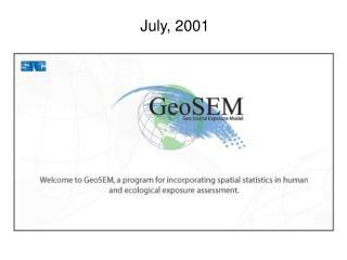 July, 2001