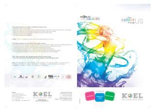 Cosmetic Colorants - Koel Colours