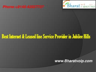 Best Internet & Leased line Service Provider in Jubilee Hills