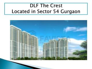 DLF The Crest Ultra Luxurious Project of Gurgaon
