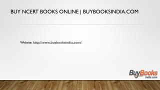 Buy NCERT Books Online | buybooksindia.com