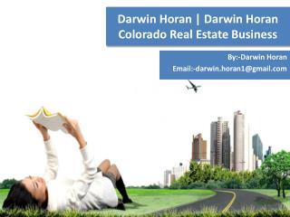 Darwin Horan | Darwin Horan Colorado