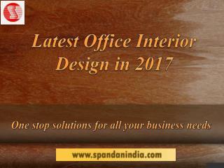 Latest Office Interior Design in 2017 | Best Interior Designer in Vadodara