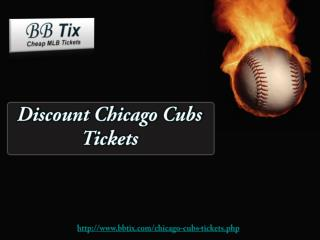 Discount Chicago Cubs Tickets