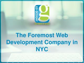 The Foremost Web Development Company in NYC