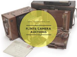 Camera Auction online in London