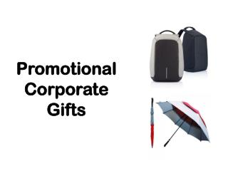 Promotional Corporate Gifts
