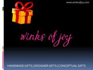 Birthday gifts Ahmedabad - Handmade Designer Gifts