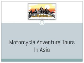 MotoAsia – Thailand Offroad Motorcycle Tour
