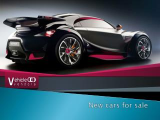New cars for sale in UK