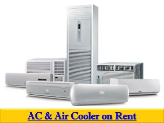 AC and Air cooler on Rent in Hyderabad