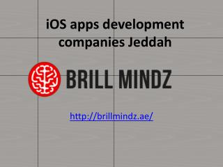 iphone app development companies Jeddah