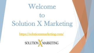 Solution X Marketing | Graphic Design Company in the USA