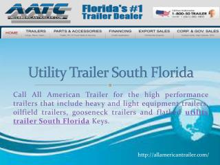 Utility Trailer South Florida