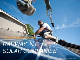 Solar Companies In Rahway