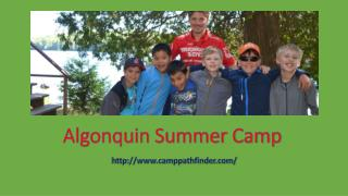 Algonquin Summer Camp