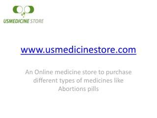 Buy medicines online from usmedicinestore.com