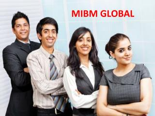 Remove the problem related with the 2 year mba online in India- ((MIBM GLOBAL))