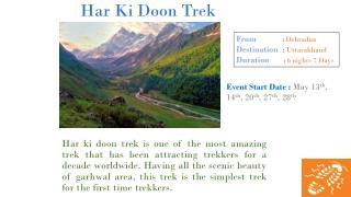 Har Ki Doon Trek In Uttarakhand