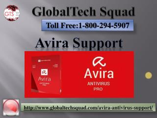 Avira Support | Toll Free 1-800-294-5907
