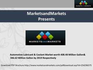Automotive Coolant & Lubricant Market by Vehicle Type