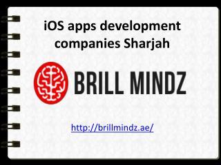 iOS apps development companies Sharjah