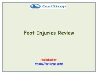 Feet Strap-Foot Injuries Review