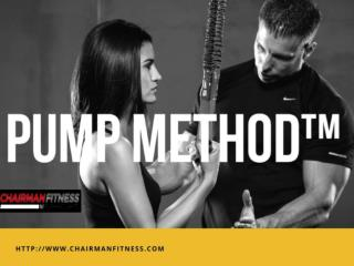 PumpMethod by VIP Fitness Trainer in Miami.