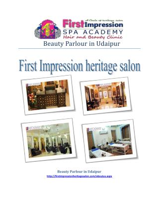 Beauty Parlour in Udaipur-Most Popular Parlour