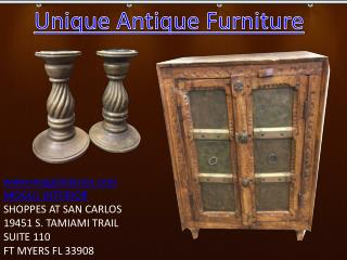Unique antique furniture by Mogulinterior