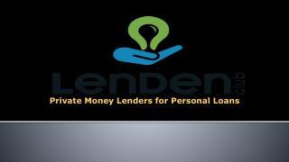 P2P Lending, Peer To Peer Lending in India - LenDenClub
