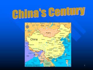 Chinas Century