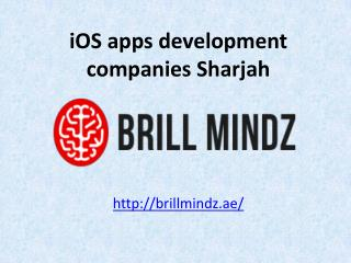iOS apps development company Sharjah