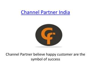 channel Partner India Opportunity