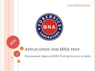 Legal DNA Test