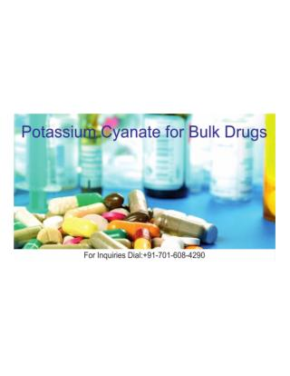 Potassium Cyanate For Bulk Drugs