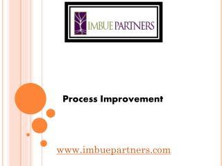 Process Improvement - www.imbuepartners.com
