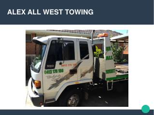 Get the best towing service in Truganina!